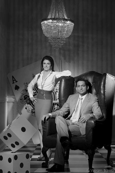 Komal and Rajiv Wazir