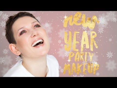 Модный Новогодний Макияж / Три образа для Новогодней Вечеринки - YouTube
