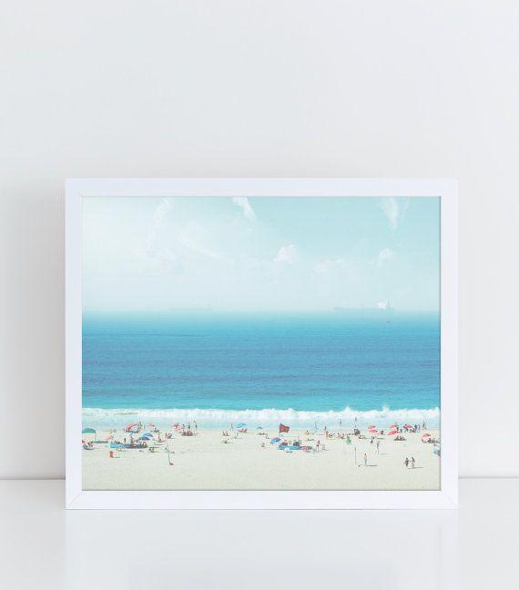 Impressions de plage, plage Wall Decor, photographie plage, décoration murale côtière, impressions nautiques, océan photographie, océan affiche, mer estampes, Art de la mer.