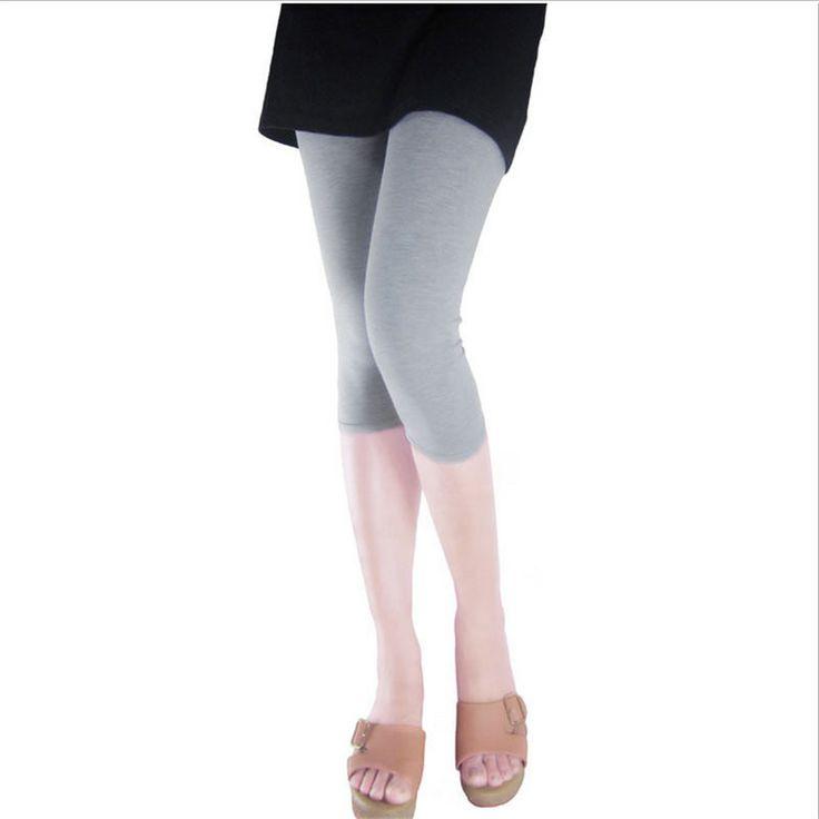 Modal Cotton Fitness Leggings Women Summer New Plus Size Slim Fit Leisure Casual Soft Pant shorts Trousers Leggin for Female
