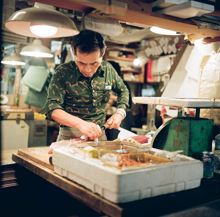 The Tsukiji Fish Market Located In Tokyo Is The Biggest Wholesale Fish And Seafood
