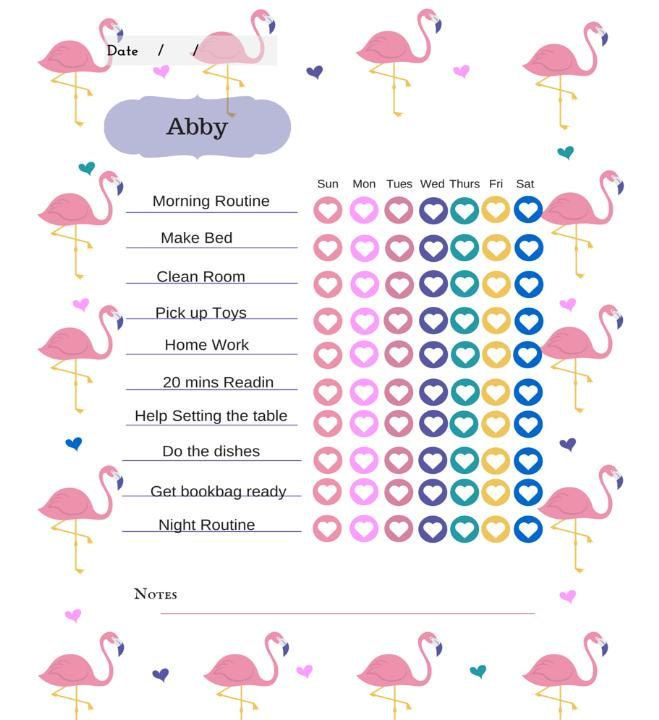30 best Chore Chart images on Pinterest Chore charts, Activities - chore chart