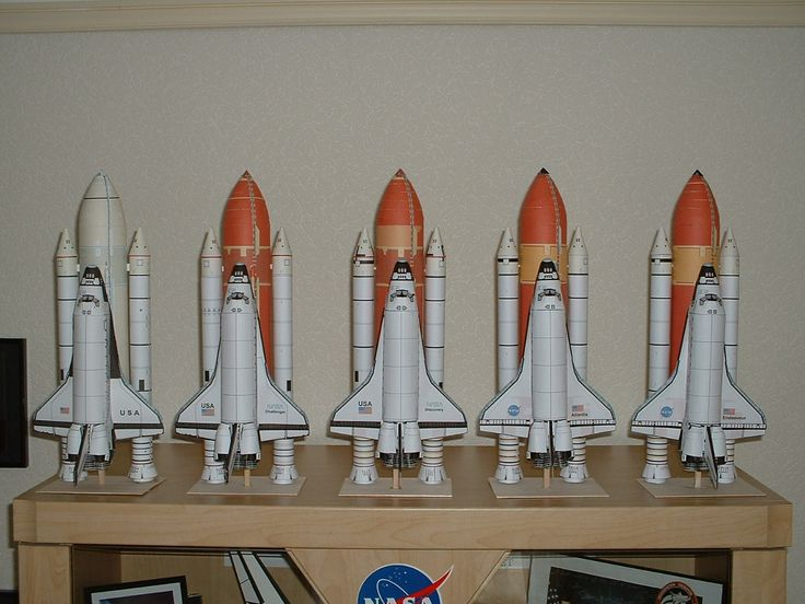 atlantis space shuttle papercraft - photo #23