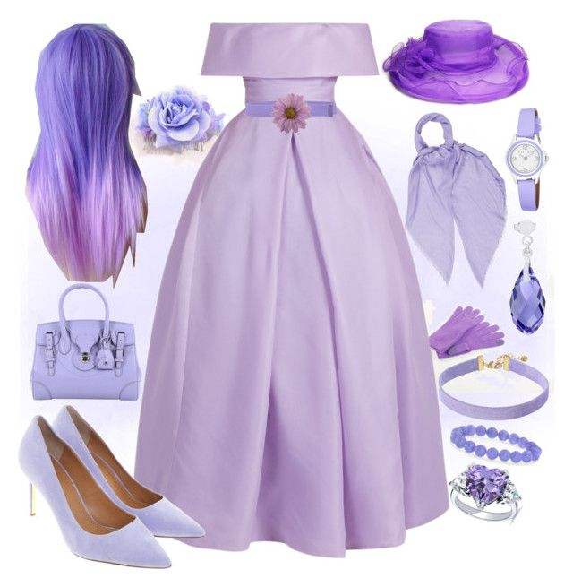 """Lilac dream (please read description)"" by onceharrypotterdisneyfan ❤ liked on Polyvore featuring Naeem Khan, Tory Burch, Ralph Lauren Collection, Gucci, Vanessa Mooney, BERRICLE, Ross-Simons, Twin-Set, NOVICA and Laura Ashley"
