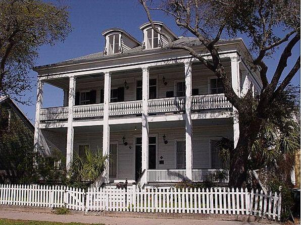 C 1860 greek revival galveston tx 295 000 old for Galveston home builders