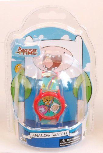 Adventure Time Kids ATW001-RE Finn Jake Princess Bubblegum Watch @ niftywarehouse.com #NiftyWarehouse #AdventureTime #TVShow #Cartoon #Show #CartoonNetwork