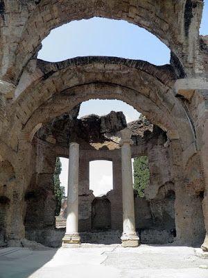 Ókori töredékek: Hadrianus villája képeken