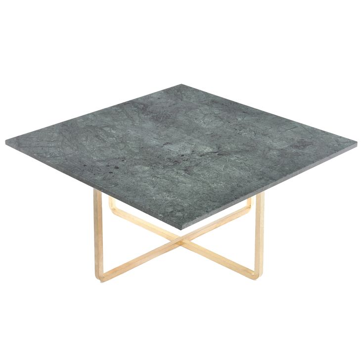 Ninety sofa table green marble, brass – OX Denmarq #interior #design