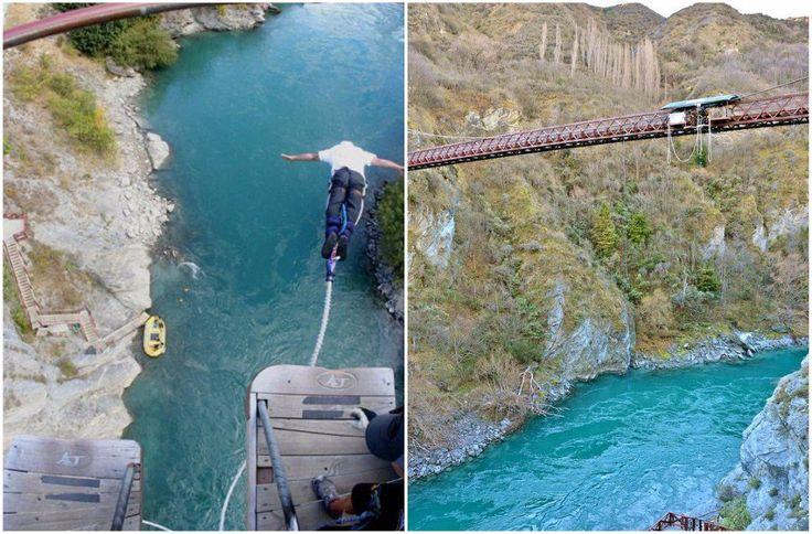 viaje por el mundo bungee nueva zelanda