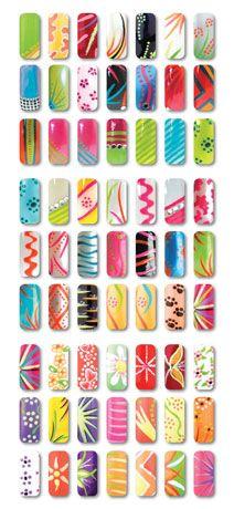professional nail designs | Nail design chart
