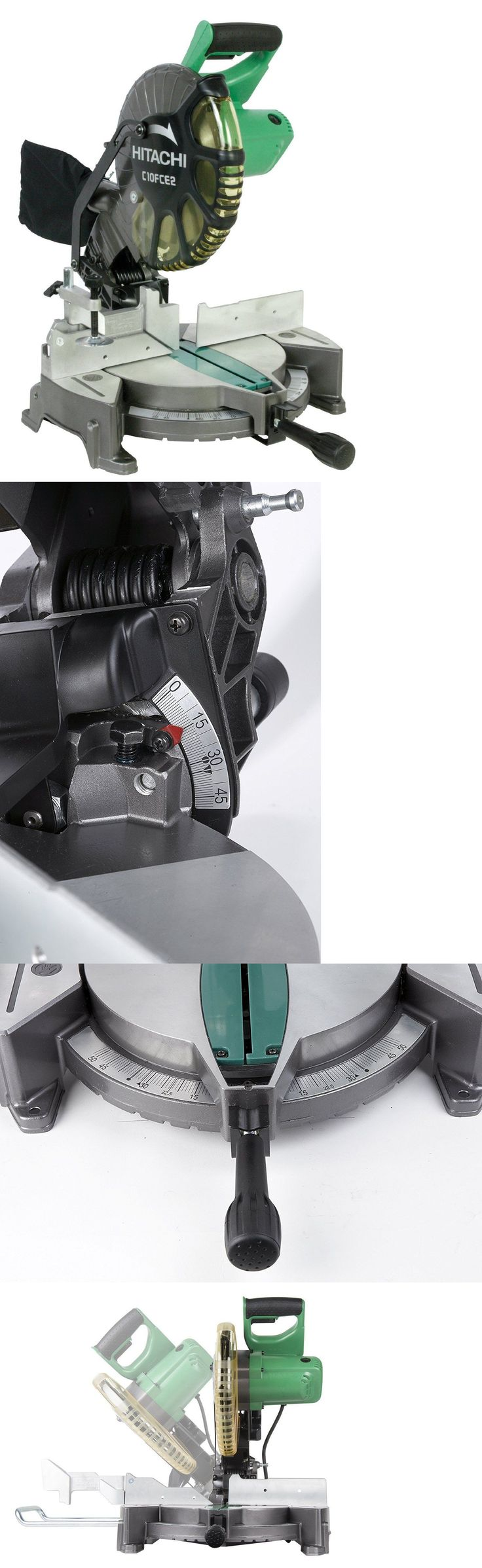 Miter and Chop Saws 20787: *New* Hitachi Miter Saw Compound Sliding Bevel Single 10 Inch 15 Amp Motor -> BUY IT NOW ONLY: $155 on eBay!