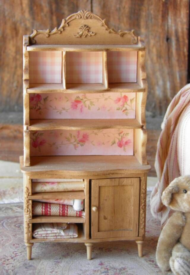 Add Appliques And Accents To Plain Wooden Furniture