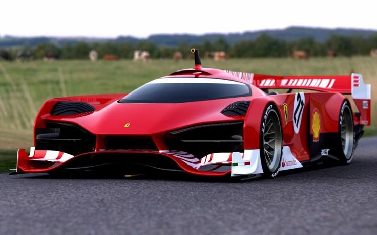 le ferrari   Ferrari Le Mans Concept, de la mano de Sasha Selipanov