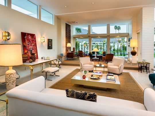 Designer Stephen Collins presents world view in Palm Springs