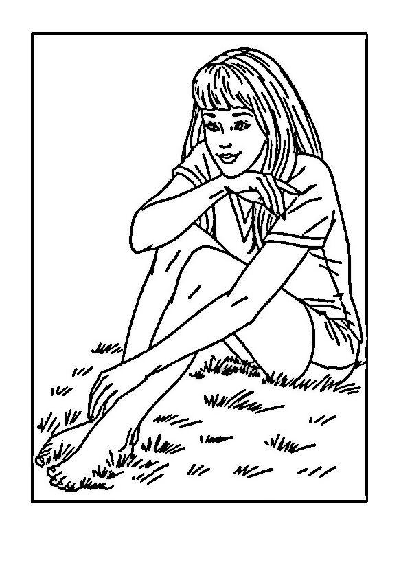 barbie 51 ausmalbilder für kinder malvorlagen zum