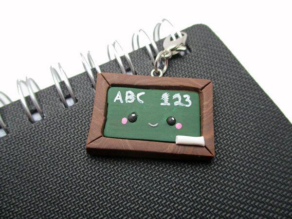 Kawaii Chalk Board: Planner Charm or Locker Magnet - Think Crafts by CreateForLess