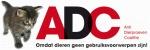 De Stichting ADC (Anti Dierproeven Coalitie) komt op voor de belangen van proefdieren. Klik op het logo en doneer online aan Stichting ADC.