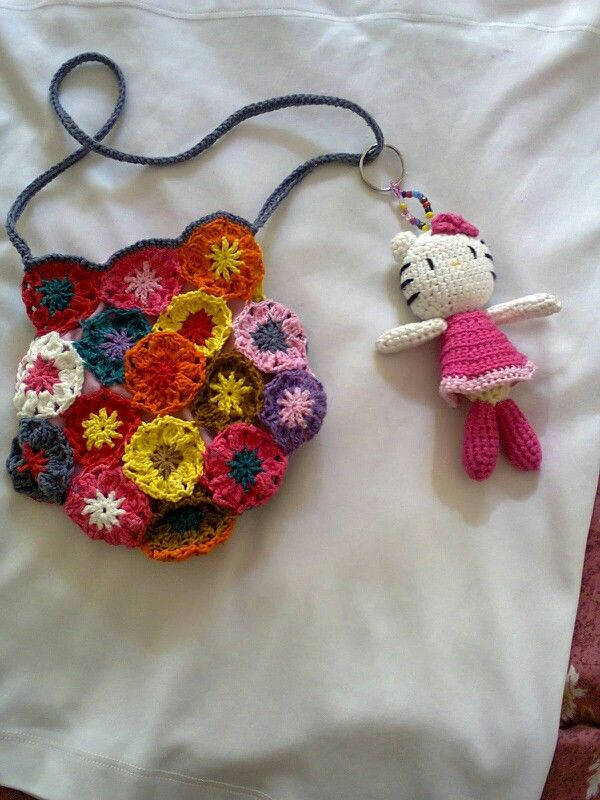 Crochet Work Bags : ... work on Pinterest Crochet turtle, Granny square afghan and Bags