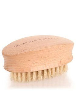 Crabtree & Evelyn Birch Wood Hand and Nail Brush by Crabtree & Evelyn. $7.99. Natural Birch Wood Handle. 3 inches x 1 1/4 inch x 1 inch. Classic Oval Shape. Quality rounded nylon bristles. Our classic, oval shaped nail brush is crafted from natural birch wood - and filled with rounded nylon bristles.
