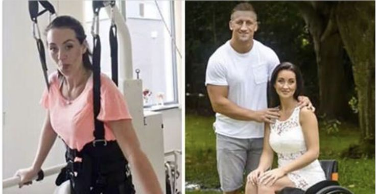 After suffering a massive stroke that left her paralyzed from the waist down in March 2015, Riona Kelly never expected that she would be happy again. YouTube Still cooped up in her hospital bed just five days after the stroke, Riona's husband, Richard, of 14 years told her he wanted a divorce af