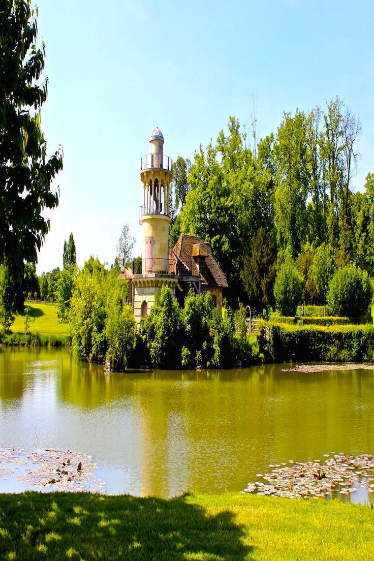 The Hamlet created by Marie Antoinette at Versailles France