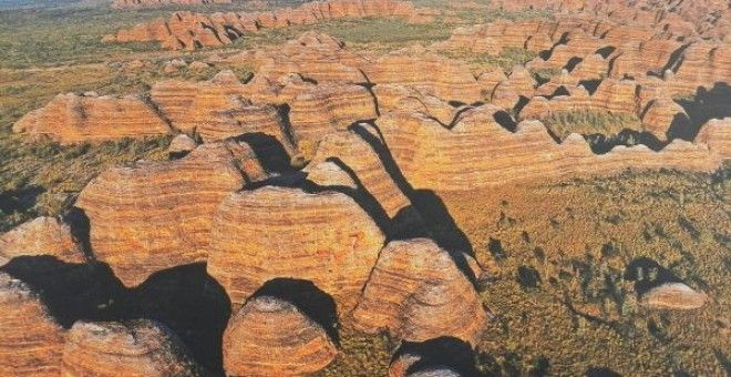 The Bungle Bungles on a scenic helicopter flight