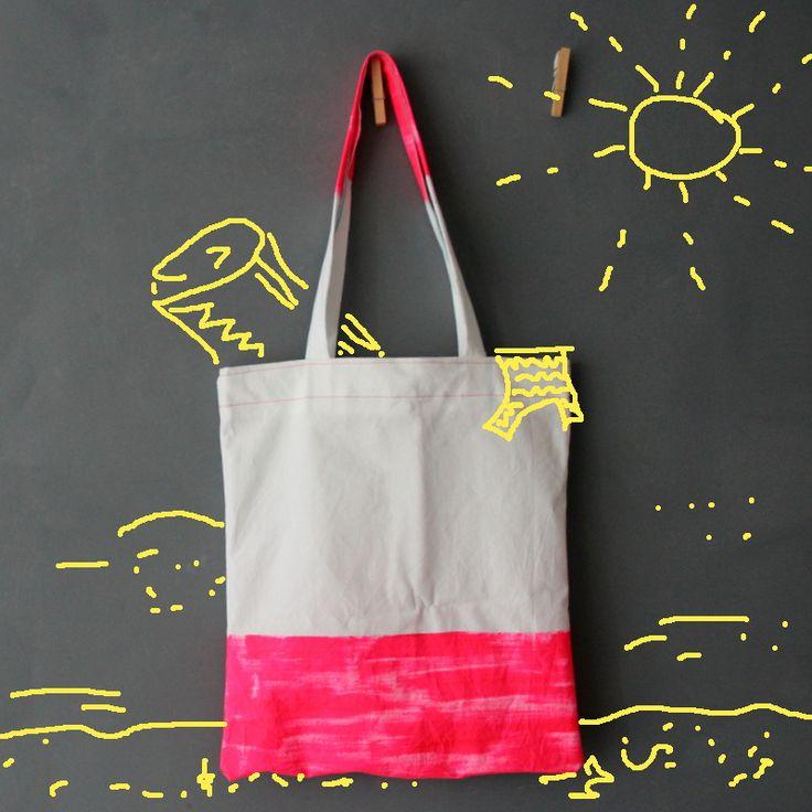 einfache Tasche Nähanleitung - easy bag pattern tutorial