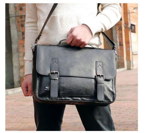 Bag-Leather-Laptop-Vintage-Messenger-Shoulder-Satchel-School-Handbag-Business