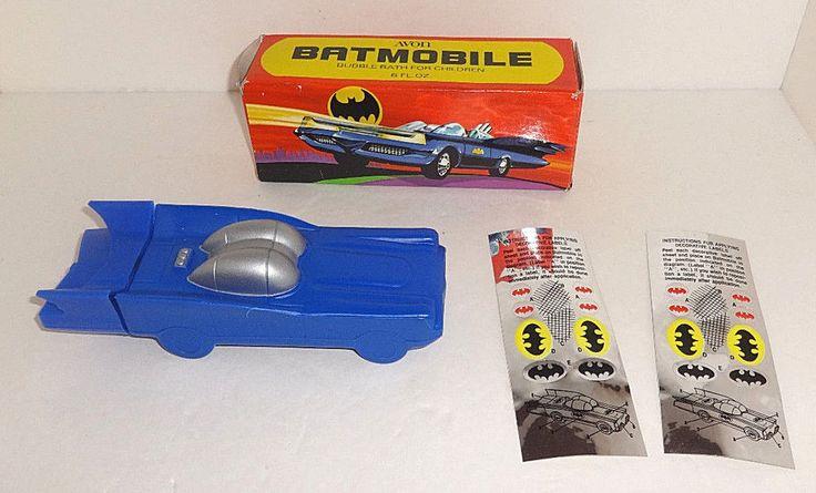 Vtg Batman Batmobile 1978 Unused in Box Full 2 Sticker Decal Sheet Avon | Collectibles, Comics, Bronze Age (1970-83) | eBay!