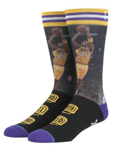 Los Angeles Lakers Kobe Bryant Championship Socks