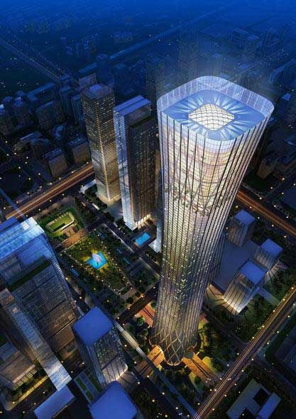 Z15 Tower Beijing I design by by Terry Farrell