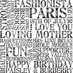 Personalised wall art canvas from Beyond a Word http://www.beyondaword.com.au/   bespoke art, word art, #personalisedart, bespokeart, #beyondaword , #wallart,  #letterart ,#word art online