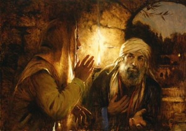 Jézus és Nicodémus
