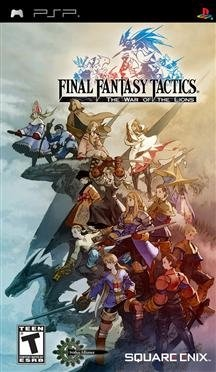 New Square Enix Usa Inc Final Fantasy Tactics War Lions Rpg Sony Psp Platform Multiplayer Function $24.99