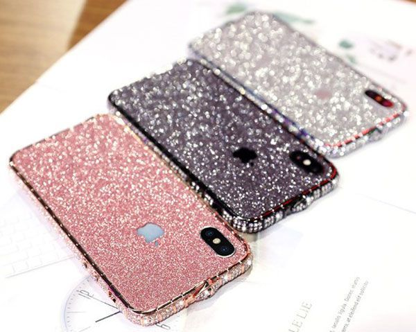 Beste Iphone X Diamant Metall Stossstange Handyhulle Fur Madchen Heartley Cell Phone Cases In 2020 Iphone Diamant Handy Case