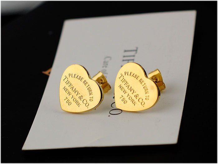 Itemschina Tiffany Co Brand Earrings For Women Lady Whole