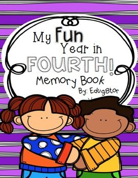 This is a great activity for the last week of school in 4th grade. Give your students the opportunity to reflect on their year in fourth, while also creating a memory book they will hold on to for years!