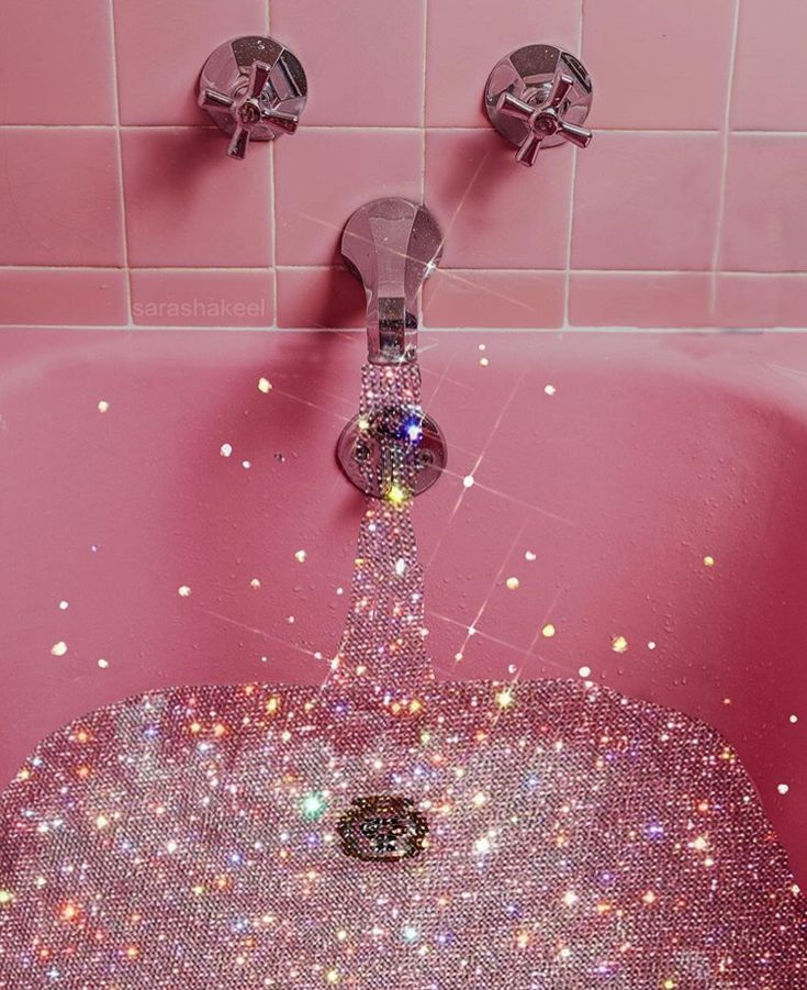 glitter bath ✨💎