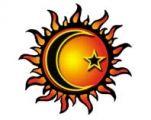 sun moon and stars tattoo - Google Search