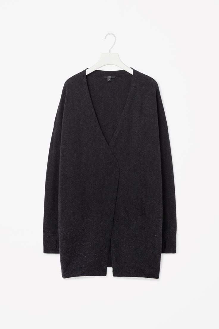 Wool cashmere cardigan COS