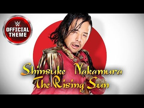 Shinsuke Nakamura - The Rising Sun (Official Theme) - YouTube