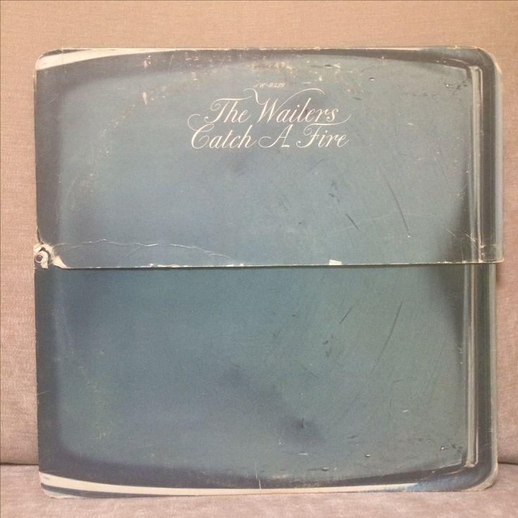 THE WAILERS, Catch A Fire, 1973. Island Records, SW-9329