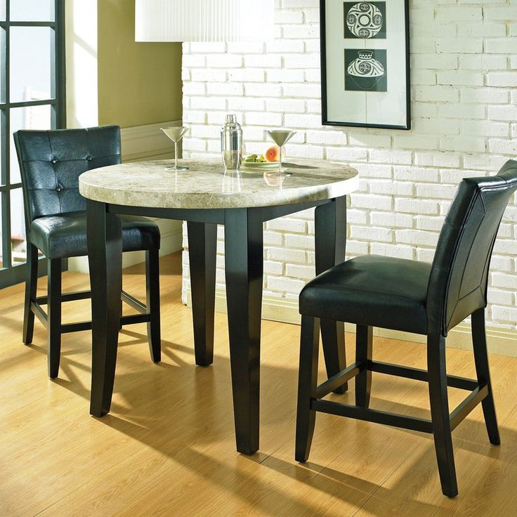 steve silver monarch 3piece bistro table set