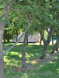 normandie, calvados,camping pour tentes,