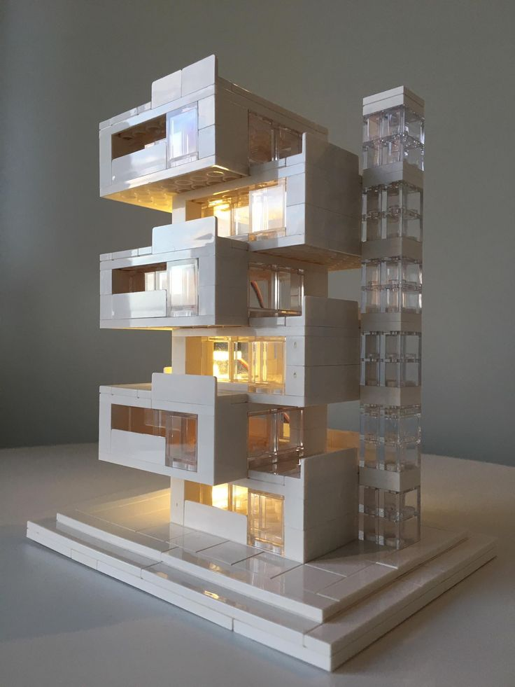 Lego Architecture, Lego Architecture Studio, Harm Bron, Amsterdam, BrickLed