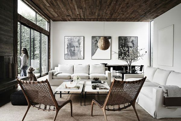 Rooms: An Inspiring Interior In Natural Tones In Los Angeles