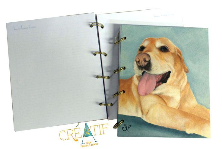 Mascotas Pets Creatif Arte Hecho a Mano Agendas pintadas