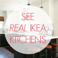See real IKEA Kitchens - pictures and descriptions from various locations
