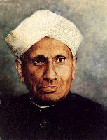 Portrait of C. V. Raman