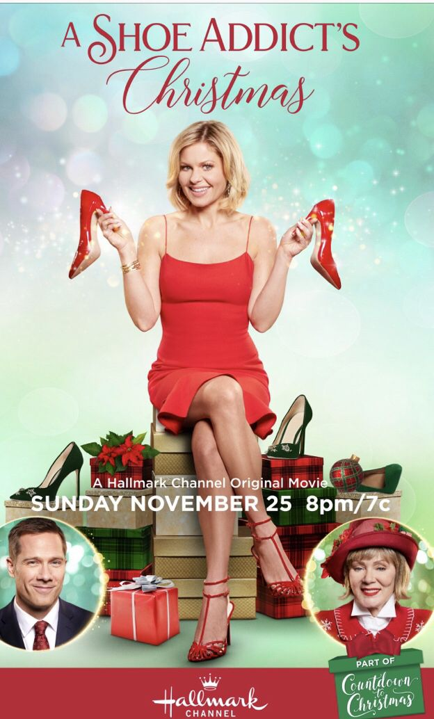 Hallmark 2018 Christmas movie starring Candace Cameron Bure Fav TV